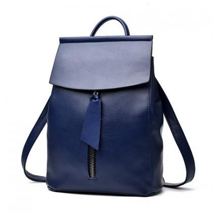 Solid Color Women Back packs