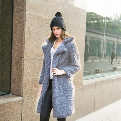 Winter Women Fur Coat Women's Jacke..