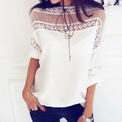 Ladies Summer Lace Tops