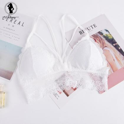 Women Lace Bralette Seamless Bra