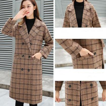 Warm and Cozy Women's Woolen Winter..