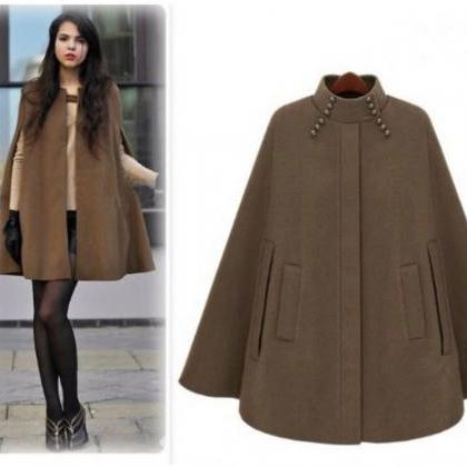 British Style Women's Warm WInter C..