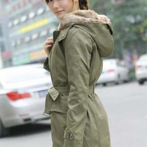 High Quality Army Green Coat