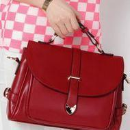Red Vintage Design Fashion Hand Bag