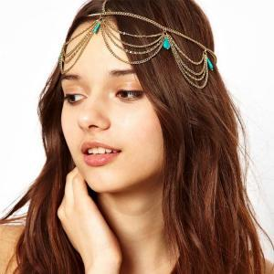 Boho Chic Layered Hair Accessory