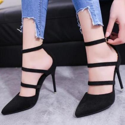 Sexy Pointed Toe High Heels Shoes