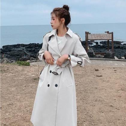 Beautiful Belted Trench Coat