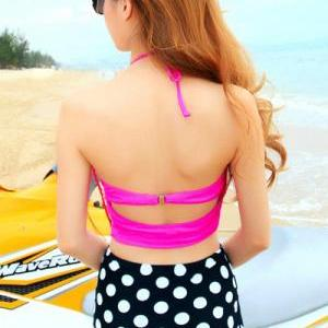 Cute Two Pieces Polka dots Design B..