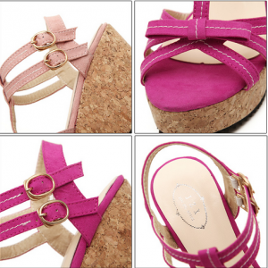 Pretty Strappy Bow Design Fashion W..