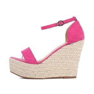 Open-toe Ankle-strap Espadrille Wed..