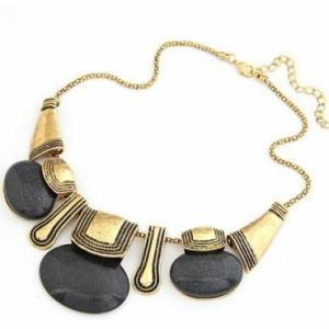 Bohemian Style Crysal Necklace in 3..