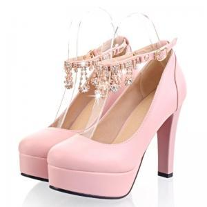 Gorgeous Diamante Design Pumps in 4..