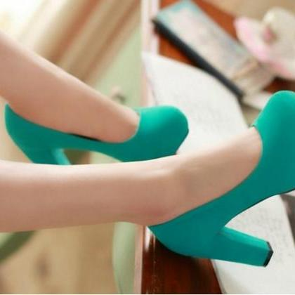 Classy High Heel Fashion Shoes