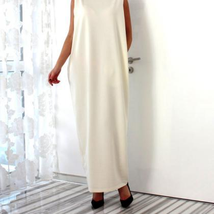 Sexy Loose Long Summer Dress in Bla..