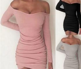 Off Shoulder Bodycon..