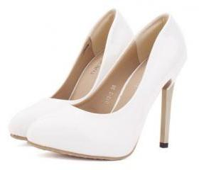 Elegant White High H..