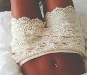 Adorable White Lace ..