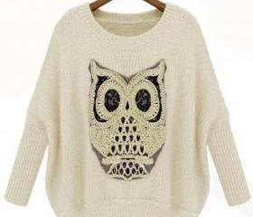 Cute Owl Design Roun..
