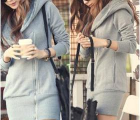 Hooded Zip up Sweate..