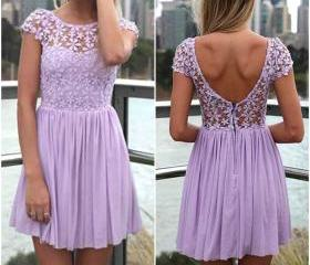 Cute Purple Lace and..