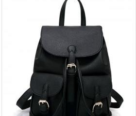PU Leather Backpack ..