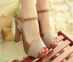 Stylish Peep Toe San..