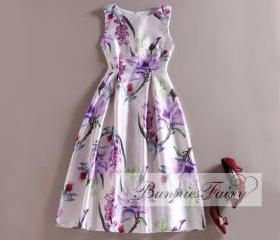 Retro Floral Sleevel..