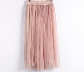 High-Waisted Pleated..