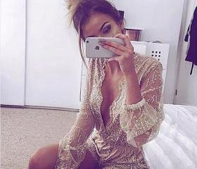Gorgeous Gold Lace V..