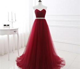 A-line Soft Tulle Bu..