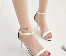 White Faux Leather A..