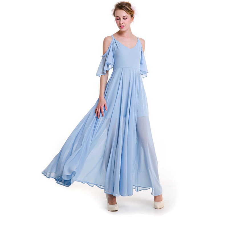 Goddess Chiffon Dress