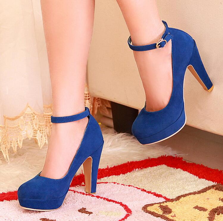 Ankle Strap High Heels Fashion Shoes