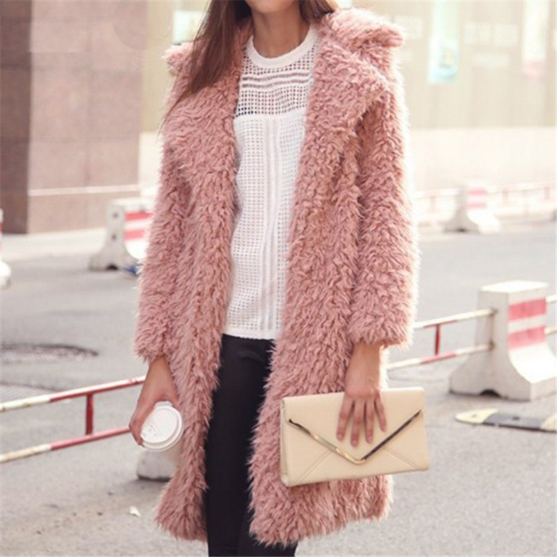 Winter Women Fur Coat Women's Jacket
