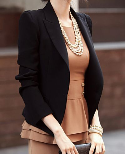 Stylish Black Blazer