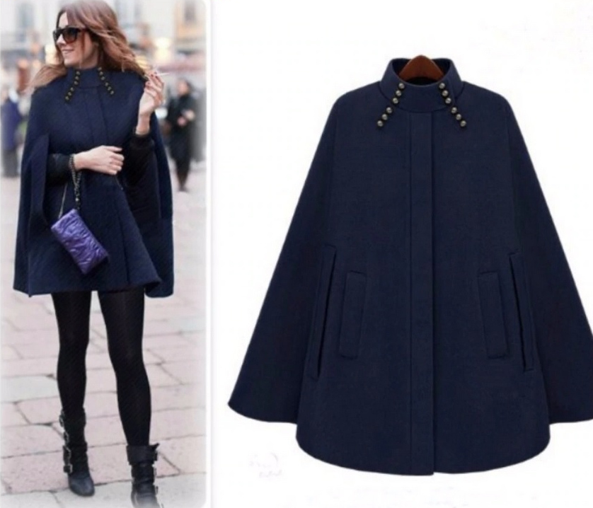 British Style Women's Warm WInter Coat