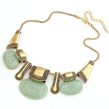 Bohemian Style Crysal Necklace in 3 Colors
