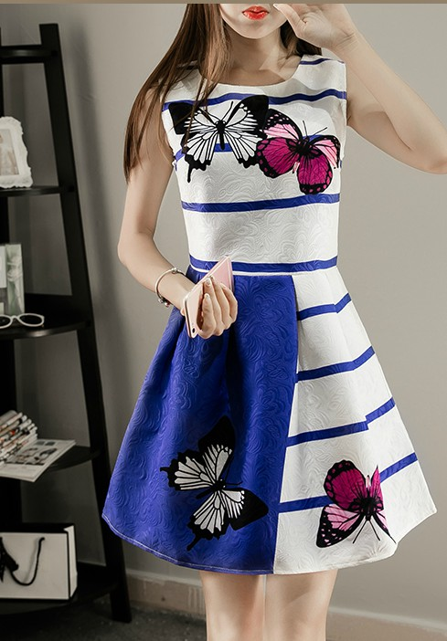 Elegant Sleeveless A Line Summer Dress