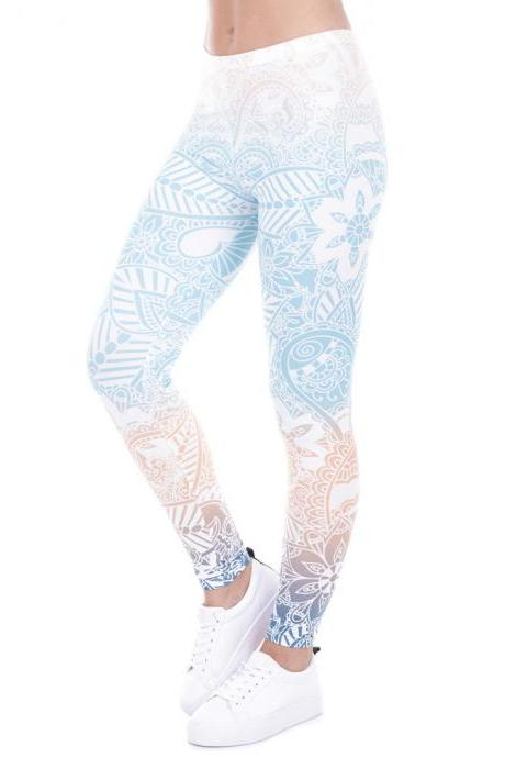 Gorgeous Printed Fitness Leggings