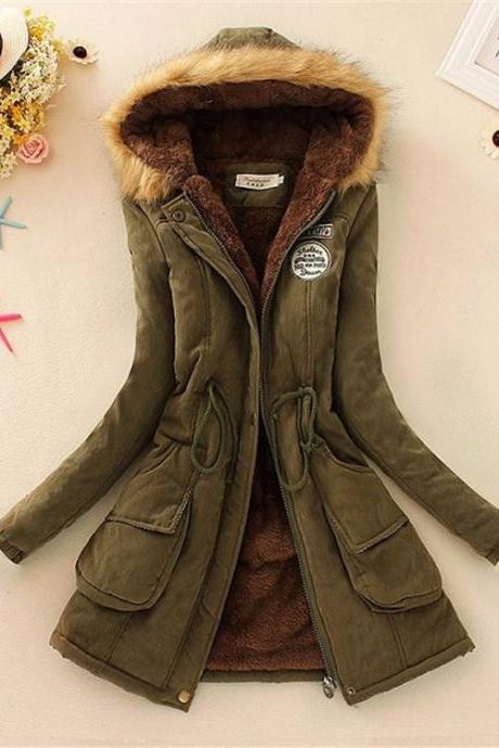 Hooded Warm Winter Coat