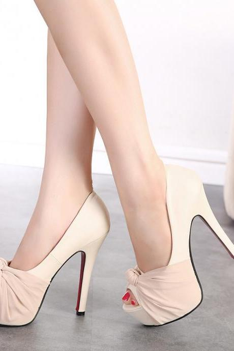 Sexy Peep Toe Platform High heels Sandals