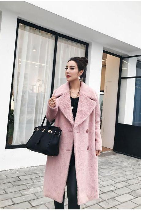 Elegant High Quality Autumn and Winter Warm Winter Coat