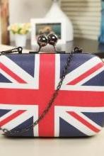 Union Jack British Style Clutch Bag Evening Bag