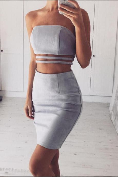 Women Two Piece Bodycon Dresses