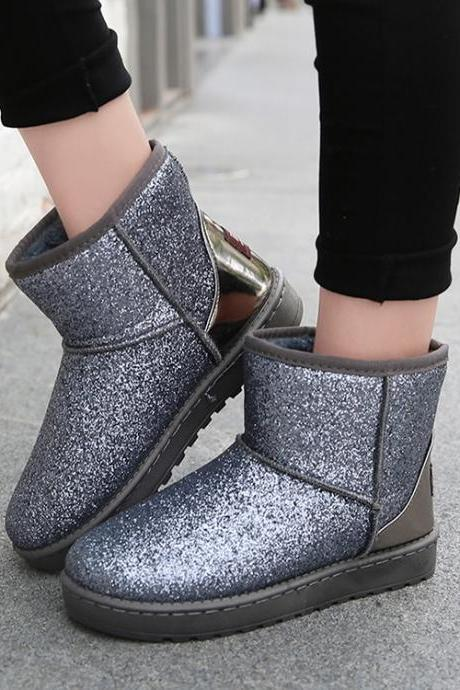 Cute Style Casual Winter Ankle Boots