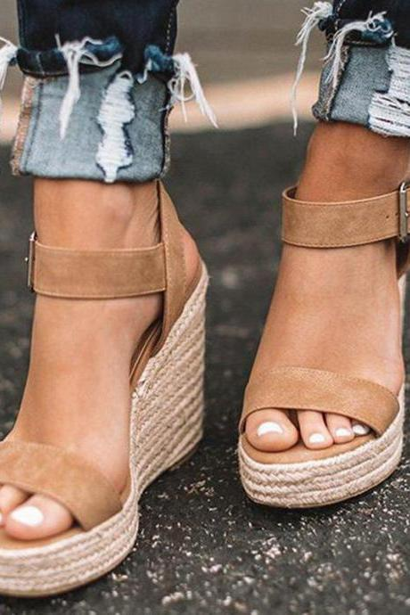Summer Classy Wedge Sandals