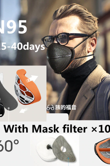 Free Shipping High Quality KN95 Mask with Free Mask Filter