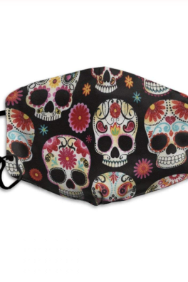 High Quality Washable Skull Design Unisex Fashion Face Mask