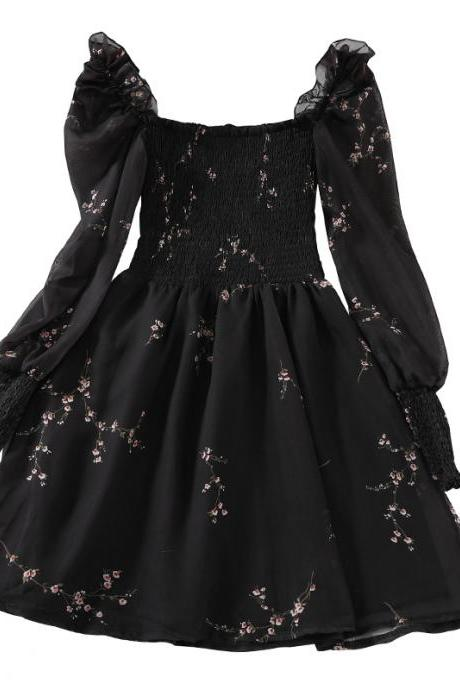 Summer Elegant Black Party Dress