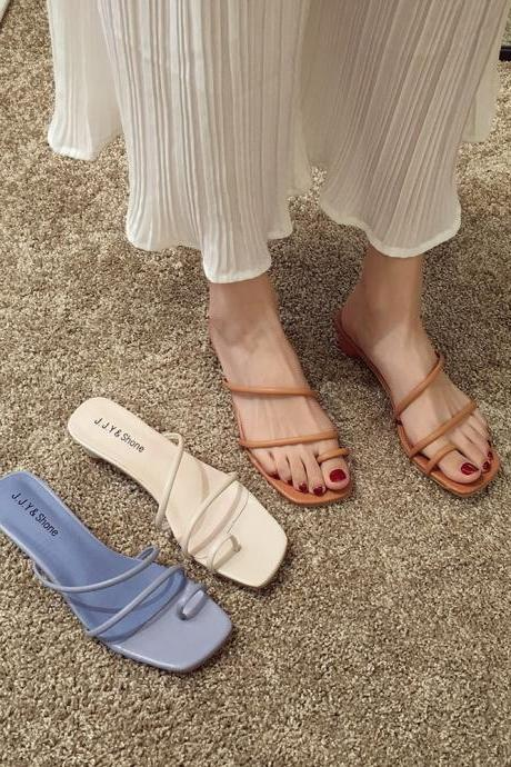 Stylish Slip on Women's Fashion Sandals